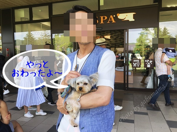 軽井沢アウトレット ペットスパ