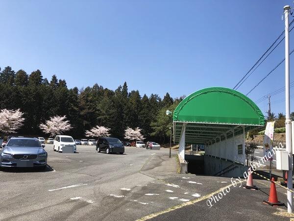 伊香保グリーン牧場 駐車場
